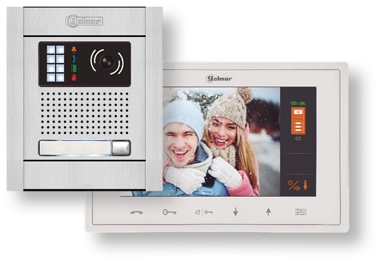 Kit de vídeo color de 1 línea N5110/Vesta 7